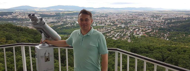 Андрій Баганич про те, як українці задають тон у словацьких Кошицях