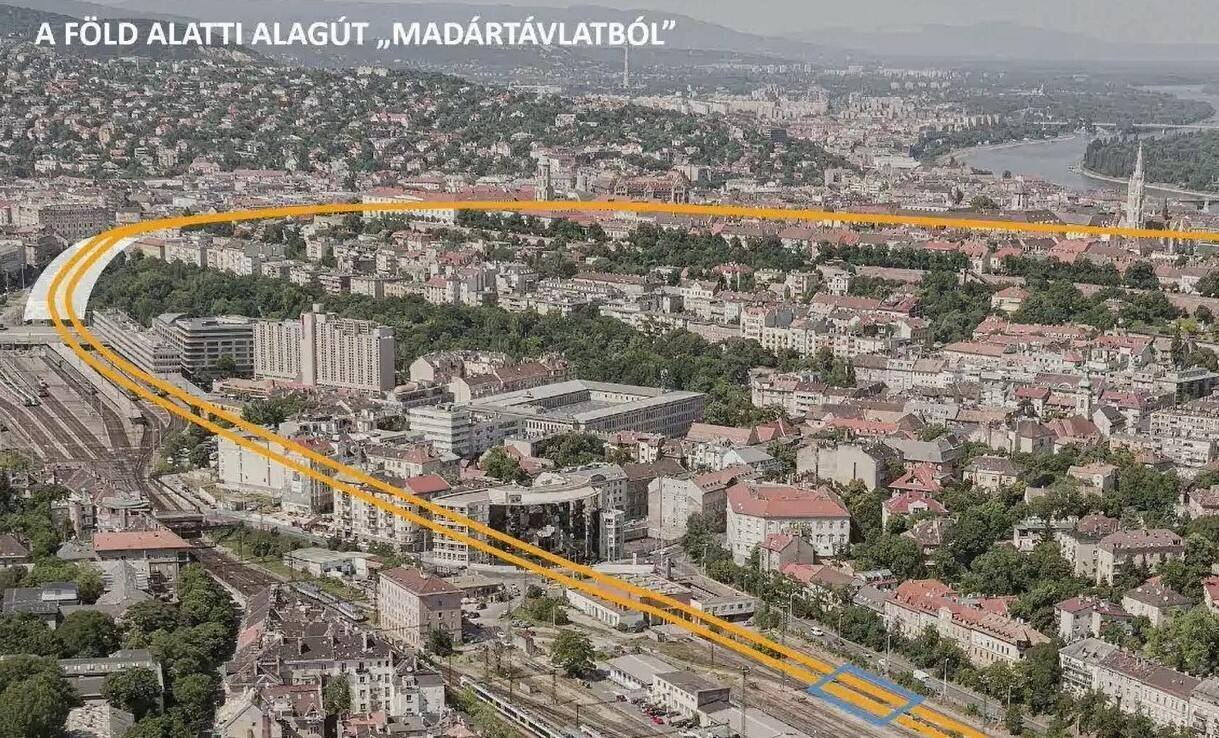 Danube Tunnel Project Budapest Development Transport 1